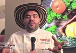 Lo chef Roy Caceres racconta il piatto speciale creato per Taste of Roma
