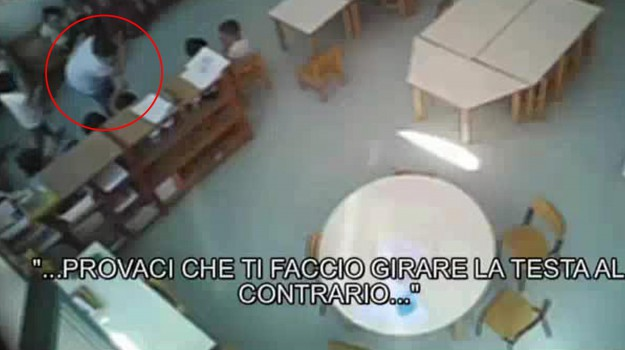 violenza maestre d'asilo, Sicilia, Cronaca