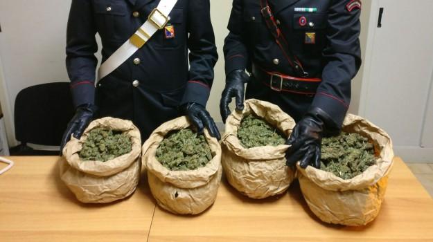 Marijuana a Mazzarino, Caltanissetta, Cronaca