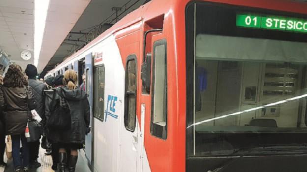 Vibrazioni e crepe: a Catania metropolitana sotto accusa