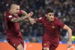 Derby alla Roma, Perotti e Nainggolan stendono la Lazio