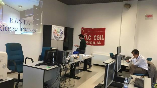 cnr palermo occupato, precariato cnr, Palermo, Economia