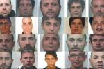 Retata contro lo spaccio a Catania ed Enna - Foto e nomi degli arrestati