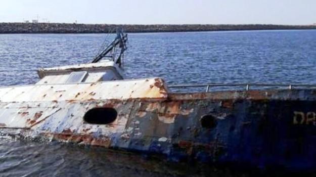 Peschereccio di Mazara del Vallo affondato in Libia dopo il sequestro