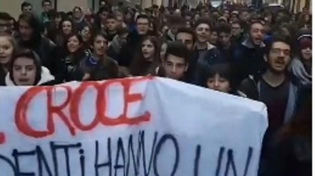 scuola protesta, Palermo, Cronaca