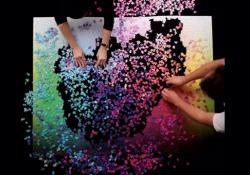 Puzzle da 5000 terminato in un minuto (di time-lapse). Le spettacolari immagini
