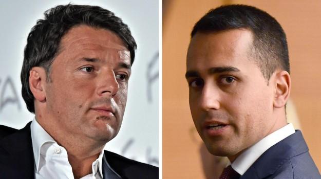 pd contro m5s, sfida tv renzi-di maio, Luigi Di Maio, Matteo Renzi, Sicilia, Politica