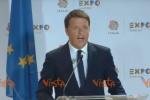 """Quando Renzi disse a Putin: """"Vogliamo vincere i Mondiali 2018"""". La satira corre sul web - Video"""
