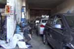 Pezzi di auto rubate rivenduti, scoperto vasto giro a Palermo - Video
