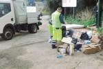 Rifiuti fuori orario ad Agrigento, multati i contravventori