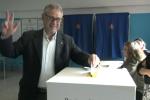 Il voto di Roberto La Rosa a Palermo - Video