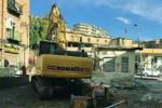 Vecchio distributore a Caltanissetta cancellato dalle ruspe comunali