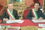 Gemellaggio tra Caltanissetta e Cremona sul torrone