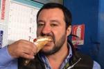 """Salvini a Vittoria: """"Non voglio i voti di mafia e raccomandati, mi fanno schifo"""""""