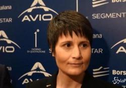 Samantha Cristoforetti madrina per il debutto in Borsa di Avio: «Un segnale di successo»