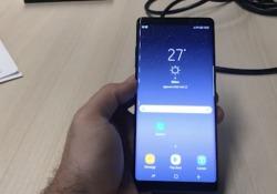 Debutta a New York il maxi-smartphone con pennino dei coreani: ecco il nostro primo contatto