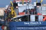 Sbarco a Trapani, arrivano 254 migranti