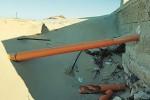 Marina di Modica, scarico abusivo nella spiaggia