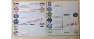 Vademecum per il voto ed ecco la scheda