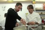 Il fondatore di Instagram in cucina con lo chef Davide Oldani