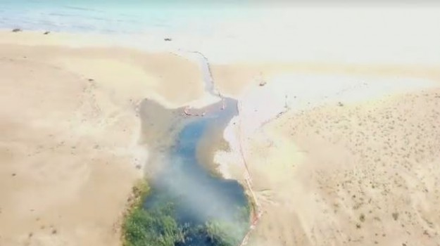 inquinamento torrente, Agrigento, Cronaca