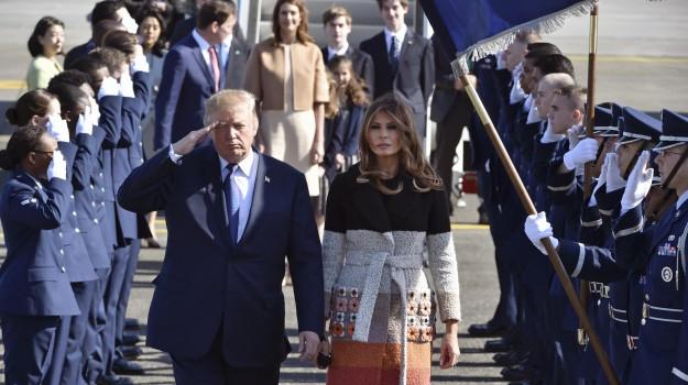 trump in giappone, visita presidente Usa giappone, Donald Trump, Melania Trump, Sicilia, Mondo