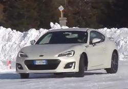 Tutte le Subaruprovate sulla neve