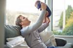 Quando lo guardo del genitore incontra quello del bebè, i cervelli entrano in sincronia