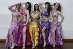Deborah Serina con la classe di corso avanzato di danze orientali