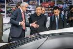"""Auto: vicepremier Cina in Pininfarina, """"auspico accordo"""""""
