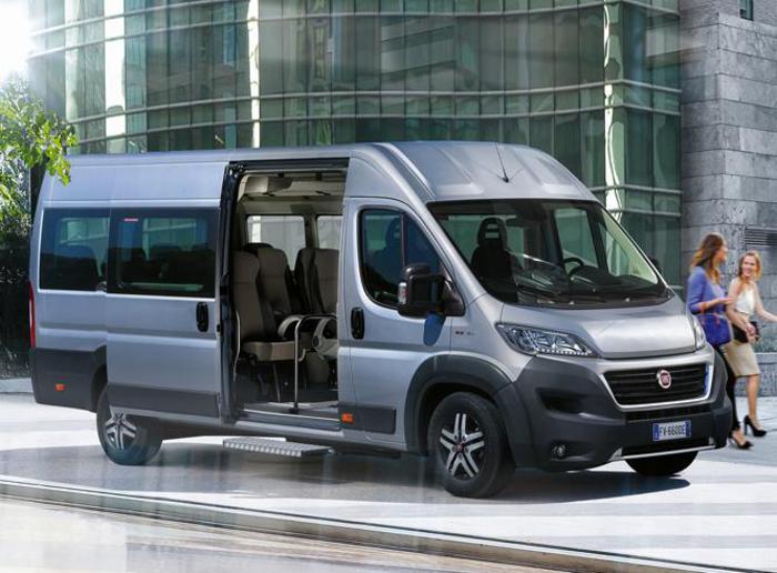 Nuovo ducato minibus da 14 o 17 posti conducente compreso