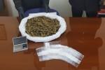 Trovato un chilo di marijuana in una pescheria di Pozzallo, arrestati i titolari