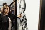 Francesca Lavazza fotografata in occasione della presentazione alla stampa del calendario Lavazza 2018