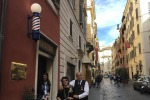 Barberia Peppino, 60 anni fra politici, nobili e hipster