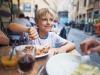 Se seguono una dieta sana, bambini più felici
