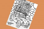 Volkswagen regala disegni Maggiolino e Bulli da colorare