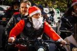 Impazza il Babbo Natale biker, all'insegna della solidarietà