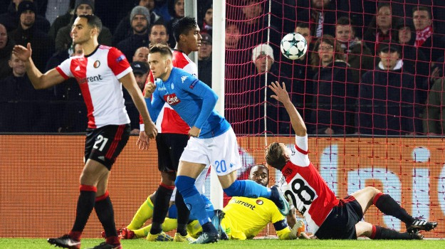 champions league, Feyenoord Napoli, Sicilia, Sport