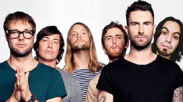 Maroon 5 i più trasmessi su RGS