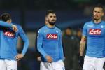 Napoli fuori dalla Champions, le statistiche