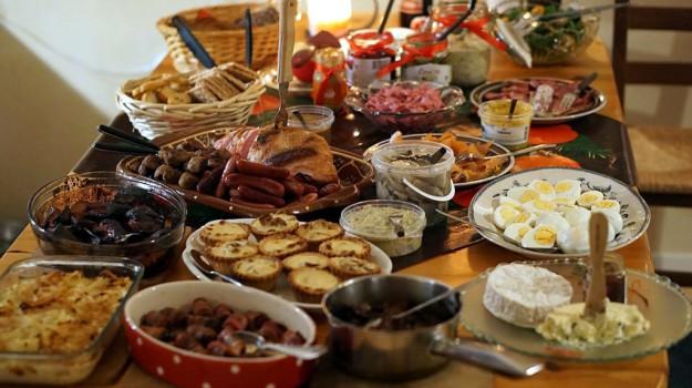 natale cibo tavola dieta, Sicilia, Società
