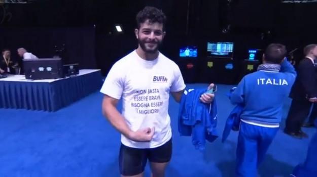 mondiale pesi, Nino Pizzolato, Trapani, Sport