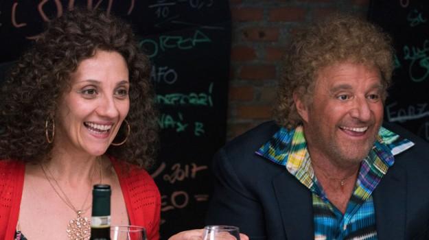 Rgs al cinema, intervista a Christian De Sica e Lucia Ocone