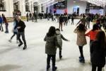Palermo sul ghiaccio: quattro piste di pattinaggio