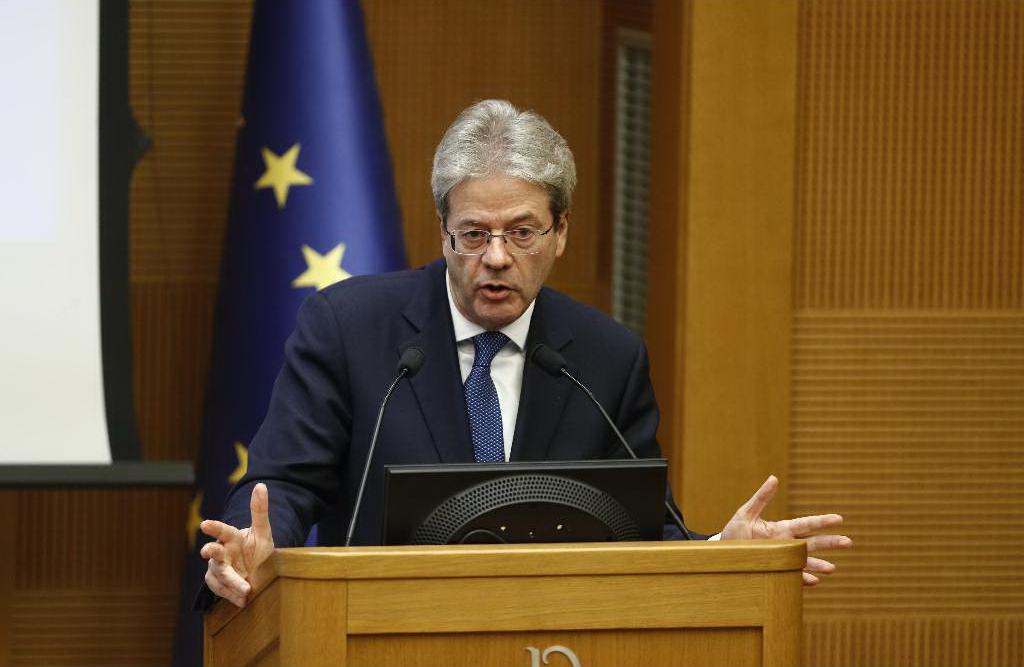 Gentiloni: il famoso fanalino di coda dell'Europa non siamo più noi