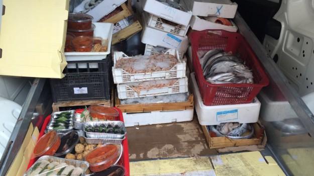pesce, polizia, sequestri, Palermo, Cronaca