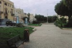 Marsala, piazza Marconi nel degrado