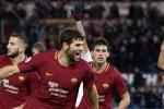 Una sola rete e la Roma si impone sul Cagliari, le immagini della partita