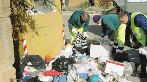abbandono dei rifiuti in strada, rifiuti agrigento, Agrigento, Cronaca