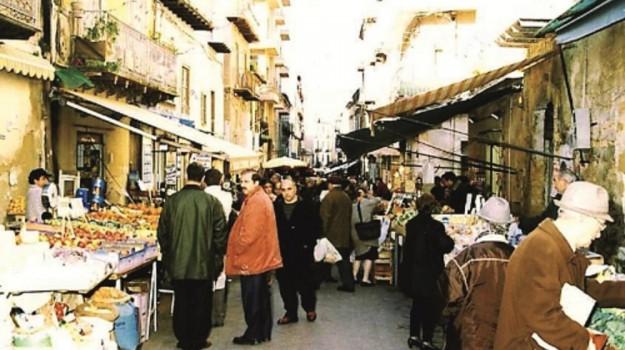 caltanissetta, Mercato, polizia municipale, strata'a foglia, Caltanissetta, Cronaca